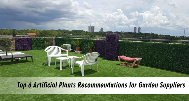 top 6 recommendations for artificial plants garden suppliers